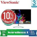 ViewSonic Ultra-Slim VX3276-2K 32in WQHD IPS LCD Monitor $293.10 Delivered @ Wireless1 eBay