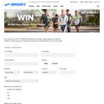 Win 1 of 2 Running Packs Worth $1,000 from Brooks