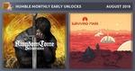 Humble Bundle Monthly US $12 (AU $17) - Kingdom Come: Deliverance, Surviving Mars + More