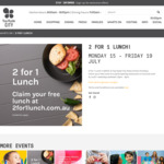 [NSW] 2-for-1 Lunch @ Top Ryde Shopping Centre