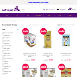 Select Pet Products Only $5 (Fancy Feast x8, Science Diet x12, Kong, etc) @ Net To Pet