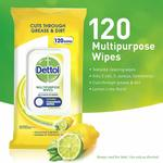 Dettol Multipurpose Wipes, Pack of 120 - $5 + Delivery ($0 with Prime/ $39 Spend) @ Amazon AU