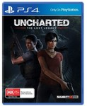 [PS4] Uncharted: The Lost Legacy $5 + Delivery @ Harvey Norman