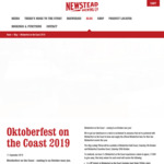Win 1 of 2 'Oktoberfest on the Coast' Experiences for 4 Worth $1,500 from Newstead Brewing Co