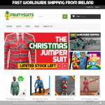Novelty Suits 40% off 3 Styles. Christmas, Shamrock & 80's €53.40 (~$86.63 AU) + Shipping @ Fruitysuits
