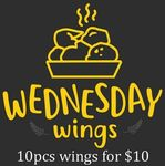 [NSW] 10 for $10 Chicken Wings @ dr krunch, Randwick