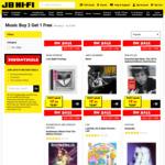 3 CDs (Selected Range) for $15.98 @ JB Hi-Fi