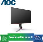 "AOC 24G2/27G2 23.8""/27"" IPS, FreeSync, 1ms, 144hz $249/ $289 Plus $30 E-Gift Card +$14.50 Shipping ($0 /w Plus)@ Wireless 1 eBay"
