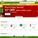 iHerb Black Friday Special 11% off (AUD $59 or More)