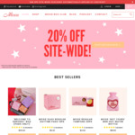 20% off Site-Wide on Personal Care Products @ Moxie