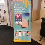 Optus 24mth Samsung S10e (128GB) $64/mth, iPhone 7 / Pixel 3 (64GB) / Huawei P30 (128GB) / Samsung A50 (64GB) $59/mth 30GB @ HN