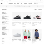 Up to 30% off Selected Styles & Increased Cashrewards Cashback 15% (Was 5.5%) @ Nike