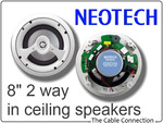 "Neotech 8"" Ceiling Speaker $168 - Post Approx $12"
