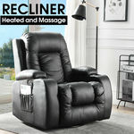 Levede Electric Massage Chair Zero Gravity Chairs Recliner Full Body Back Neck $340 (Was $380) + Delivery @ After7