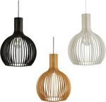 Guarin Timber Veneer Round Pendant Light $140.93 (RRP $197.80) @ Rovert