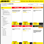 Nintendo Switch Lite Console $279 @ JB Hi-Fi