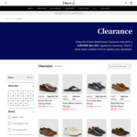Extra 30% off Clearance Items (Free Delivery over $99) @ Aquila