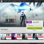 [PC] DRM-free - The Surge 2 $34.99 AUD/Broken Lines $28.79 AUD - GOG