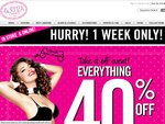 40% off Full-Priced Items at La Senza Lingerie (Online and in-Store for 1 Week)