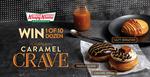 Win 1 of 10 Dozen Caramel Crave Doughnuts from Krispy Kreme SA