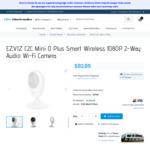 EZVIZ C2C Mini O Plus Smart Wireless 1080P Indoor Security Camera for $62.14 Shipped @ Elite Electronics