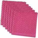 Set of 6 Dishcloth, 30cm X 30cm, 100% Cotton, Neon Pink $6.75 + Delivery ($0 w/ Prime/ $39 Spend) @ Amazon AU