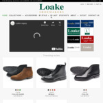 17% off Entire Order: Goodyear Welted Full Leather Shoes from $129 + Shipping (Free Shipping over $200) @ Loakes Shoes