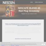 Win 1 of 500 Nescafé Red Mug & B43 Coffee Prize Packs Worth $9.18 from Nestlé