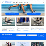 20% off @ Brooks Running Shoes