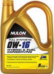 Nulon Hybrid and Fuel Conserving Engine Oil - 0W-16 5 Litre $12.99 C&C @ Supercheap Auto