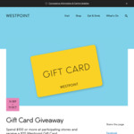 [NSW] Spend $100 and Receive a $20 Gift Card at Westpoint Blacktown Shopping Centre