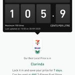 [VIC] Unleaded U98 Fuel $1.059/L @ 7-Eleven, Clarinda