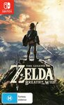 [Switch, Prime] The Legend of Zelda Breath of The Wild $49 Delivered @ Amazon AU
