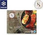 Lobster Tails with Garlic Butter Glaze 2pk/380g $27.99 @ ALDI