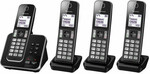 Panasonic DECT Cordless Phone with 4 Handsets, $103 + Delivery (Free C&C) @ Bing Lee