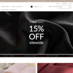 15% off Everything at The Sheet Society Cyber Sale