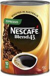 NESCAFÉ Blend 43 Espresso Instant Coffee 500g Tin $12.60 (S&S) Delivered @ Amazon AU