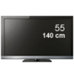 "Sony Bravia KDL-55EX500 55"" Full HD LCD TV - $1099 - Costco"