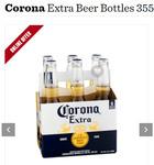 Corona Extra Beer Bottles 24x 355ml $50.90 (Was $54.99) @ Dan Murphy's