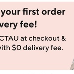 25% off First Order with $0 Delivery Fee @ DoorDash