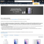 [Pre Order] Samsung S21 Series - Bonus Fire Stick TV Lite (2020) + Redeem Samsung Galaxy Buds @ Amazon AU
