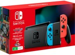 Nintendo Switch Console Mario Kart 8 Deluxe + NSO 3 Months Bundle $439 + Delivery @ Big W
