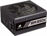 Corsair Modular 80+ Gold Power Supply Unit - RM850x $205.84, RM750x $182.55 Delivered @ Amazon AU
