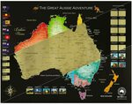 Red Rover Australia Scratch Map (80cm X 62cm) $29.90 + Delivery (Free with Prime/ $39 Spend) @ Red Rover via Amazon AU
