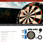 One80 Dartboard - Surround Custom Pack $149.99 (Was $222.91) Delivered @ Darts Direct