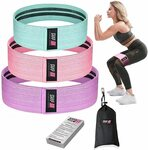 25% off Shapex Fabric Resistance Bands Set of 3 $22.99 + Delivery ($0 with Prime/ $39 Spend) @ Shapex via Amazon au