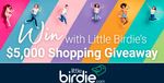 Win a $3000 Visa Gift Card, or One of 10 $200 Retailer Gift Cards from Little Birdie