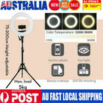 """18"""" LED Ring Light 6500K 5800LM Dimmable Stand $75.65 (15% off) + $5 Shipping @ 7-Ezylife via eBay"""