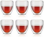Bodum Pavina 6pc Outdoor Double Wall Tumblers up to 60% off: 250ml $20, 350ml $25 + Delivery ($0 C&C/ $50 Spend) @ David Jones