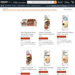 Save up to 30% off RRP on Select Olina's Bakehouse and Crispbic + Delivery ($0 with Prime/ $39 Spend) @ Amazon AU